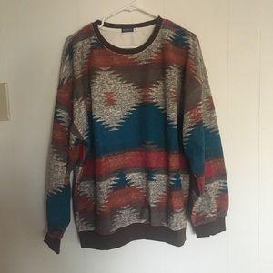 EBT Southwestern Inspired Sweatshirt